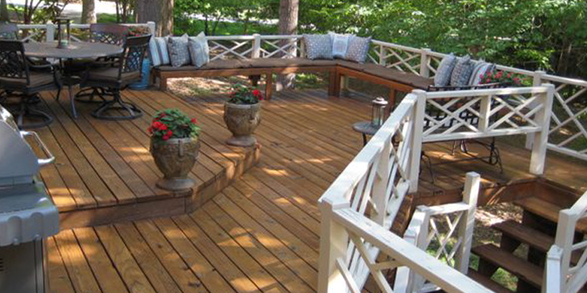 Deck washing in Raleigh,nc