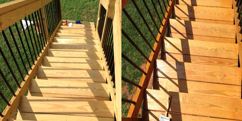 Deck Restauration in raleigh